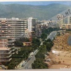 Postales: CASTELLON, POSTAL DE PLAYA DE BENICASIM, COSTA DE AZAHAR,. Lote 189360968