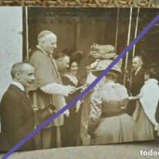 Postales: INFANTA ISABEL EN LA CAPILLA DE LA VIRGEN. EXPOSICIÓN REGIONAL VALENCIANA. ANTIGUA POSTAL.. Lote 202292315