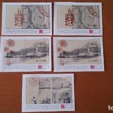 Postales: LOTE POSTALES ENTRADA PEÑISCOLA CASTELLON. Lote 189887781