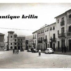 Postales: SIMAT DE VALLDIGNA Nº 6 PLAZA DEL CAUDILLO .- FOTO E. GUALLART / EXCL. BENJAMIN BURGUERA . Lote 189926533