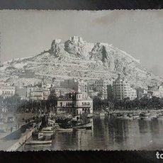 Postales: POSTAL Nº 8 - ALICANTE - CASTILLO DE SANTA BÁRBARA Y CIUDAD - FOTO ALFONSO SANCHEZ - SIN CIRCULAR.. Lote 190391368