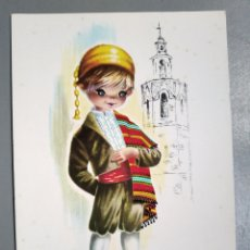 Postales: POSTAL 6 VALENCIA GALLARDA EUROCROMO TRAJES REGIONALES. Lote 190419033