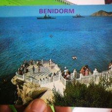 Cartes Postales: POSTAL BENIDORM MIRADOR DEL CASTILLO N 166 GALIANA. Lote 190452806