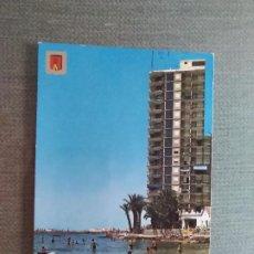 Postales: SANTA POLA ALICANTE PLAYA DE LEVANTE. Lote 191339336