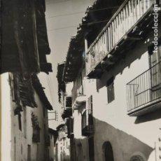 Postales: ZORITA DEL MAESTRAZGO-CALLE TIPICA-1011-COMAS ALDEA-POSTAL ANTIGUA-(66.681). Lote 191732455