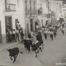 Postales: XIVA-CHIVA-FIESTAS DEL TORICO-FOTO GIMENO-POSTAL ANTIGUA-(66.700). Lote 191736170
