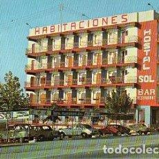 Postales: TORREBLANCA - HOSTAL SOL. Lote 191909095