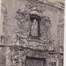 Postales: VALENCIA, PUERTA PALACIO DOS AGUAS - JDP Nº 125 - ESCRITA 1949. Lote 191924752
