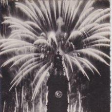 Postales: VALENCIA, FUEGOS AÉREOS PLAZA DEL CAUDILLO - JDP Nº 162 - ESCRITA 1951. Lote 191925610