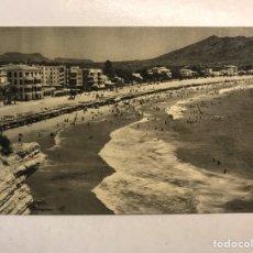 Postales: BENIDORM (ALICANTE) POSTAL NO. 502, VISTA PARCIAL Y PLAYA. EDITA: ED. JUQUEMO (H.1950?) S/C. Lote 191926360