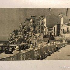 Postales: BENIDORM (ALICANTE) POSTAL NO. 501, PLAYA Y PUEBLO. EDITA: ED. JUQUEMO (H.1950?) S/C. Lote 191926898