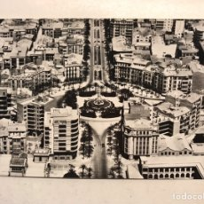 Postales: ALICANTE. POSTAL NO.42, PLAZA DE LOS LUCEROS. VISTA AÉREA, EDITA: ED. FISA, FOTO TAF (H.1950?). Lote 191929601