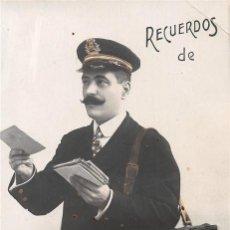 Postales: ALICANTE CARTERO - RARA POSTAL CON CARTERA IMAGENES TIPICAS DE LA CIUDAD - AÑOS 20 - NUEVA S/C.. Lote 191931092