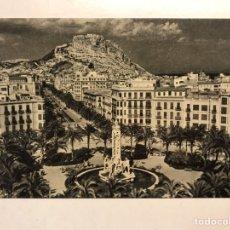 Postales: ALICANTE. POSTAL NO. 606, AVENIDA ALFONSO EL SABIO. EDITA: ED. JUQUEMO (A.1958) S/C.. Lote 191931985