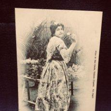 Cartes Postales: TIPOS DE LA HUERTA 9 VALENCIA LABRADORAS HIJOS BLAS CUESTA NO INSCRITA CIRCULADA. Lote 192248086