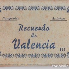 Cartoline: DESPLEGABLE 10 FOTOGRAFIAS ARTÍSTICAS DE VALENCIA - MANIPEL - EDITADO POR JDP. Lote 192250596
