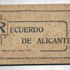 Cartes Postales: 26185- BLOC DE 20 POSTALES DE ALICANTE - SERIE 2 - EDITA- MARIMON - SAN FERNANDO,30 - ALICANTE. Lote 192263891