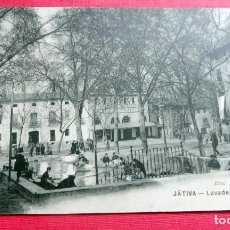 Postales: POSTAL - JÁTIVA - LAVADERO PUBLICO - ED. F. VIDAL - SIN CIRCULAR. Lote 192982596