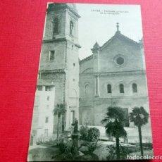 Postais: POSTAL - JÁTIVA - FACHADA PRINCIPAL DE LA COLEGIATA - ED. F. VIDAL - SIN CIRCULAR. Lote 192993830