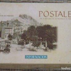 Postales: POSTALES EN LA HISTORIA DE LA PROVINCIA DE ALICANTE EN CAJA ORIGINAL. COPIAS S. XX. BUEN ESTADO. . Lote 193111603
