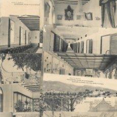 Postales: ONTENIENTE (VALENCIA) LOTE 29 POSTALES COLEGIO DE LA CONCEPCIÓN DIFERENTES Y 1 VISTA GENERAL, HAUSER. Lote 193341886