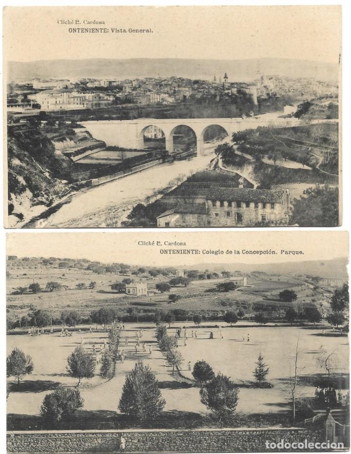 Postales: ONTENIENTE (VALENCIA) LOTE 29 POSTALES COLEGIO DE LA CONCEPCIÓN DIFERENTES Y 1 VISTA GENERAL, HAUSER - Foto 2 - 193341886