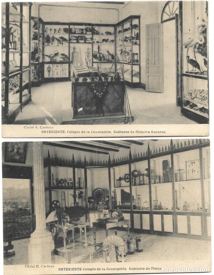 Postales: ONTENIENTE (VALENCIA) LOTE 29 POSTALES COLEGIO DE LA CONCEPCIÓN DIFERENTES Y 1 VISTA GENERAL, HAUSER - Foto 3 - 193341886