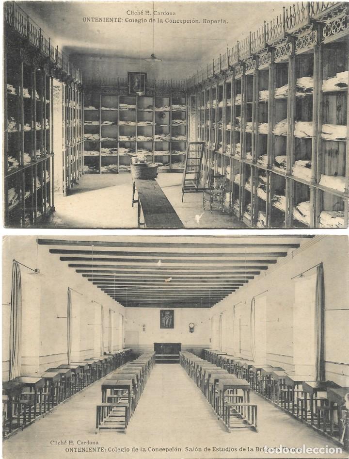 Postales: ONTENIENTE (VALENCIA) LOTE 29 POSTALES COLEGIO DE LA CONCEPCIÓN DIFERENTES Y 1 VISTA GENERAL, HAUSER - Foto 4 - 193341886
