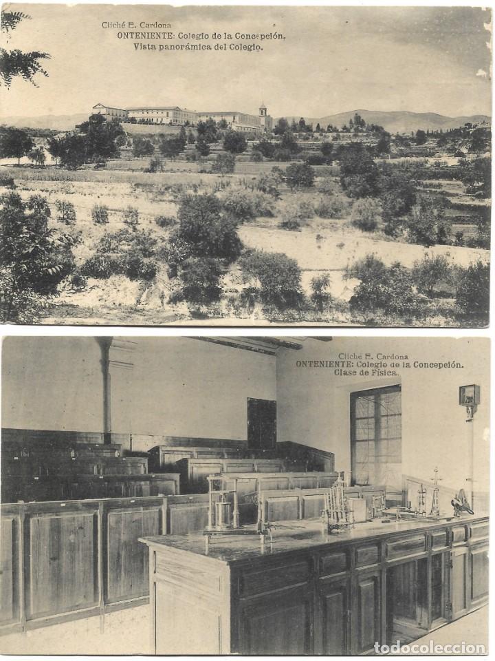 Postales: ONTENIENTE (VALENCIA) LOTE 29 POSTALES COLEGIO DE LA CONCEPCIÓN DIFERENTES Y 1 VISTA GENERAL, HAUSER - Foto 5 - 193341886