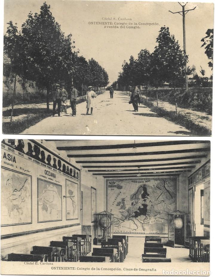 Postales: ONTENIENTE (VALENCIA) LOTE 29 POSTALES COLEGIO DE LA CONCEPCIÓN DIFERENTES Y 1 VISTA GENERAL, HAUSER - Foto 6 - 193341886