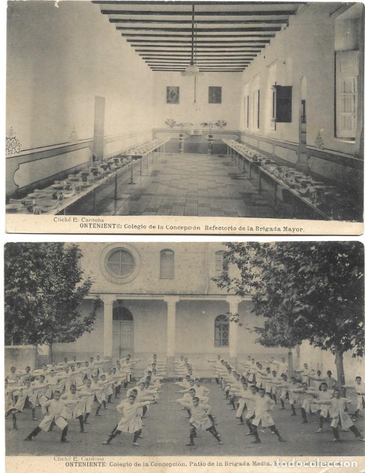 Postales: ONTENIENTE (VALENCIA) LOTE 29 POSTALES COLEGIO DE LA CONCEPCIÓN DIFERENTES Y 1 VISTA GENERAL, HAUSER - Foto 7 - 193341886