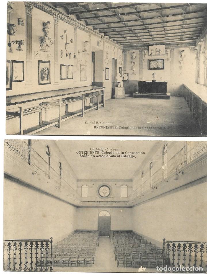 Postales: ONTENIENTE (VALENCIA) LOTE 29 POSTALES COLEGIO DE LA CONCEPCIÓN DIFERENTES Y 1 VISTA GENERAL, HAUSER - Foto 8 - 193341886