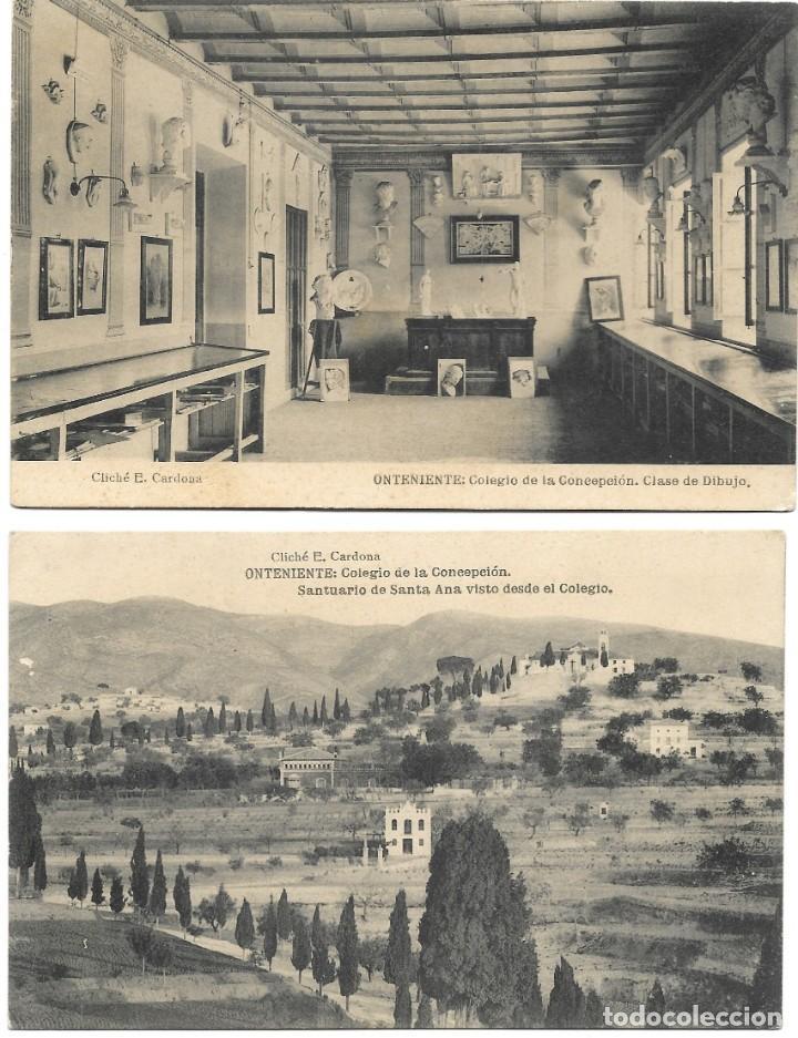 Postales: ONTENIENTE (VALENCIA) LOTE 29 POSTALES COLEGIO DE LA CONCEPCIÓN DIFERENTES Y 1 VISTA GENERAL, HAUSER - Foto 10 - 193341886