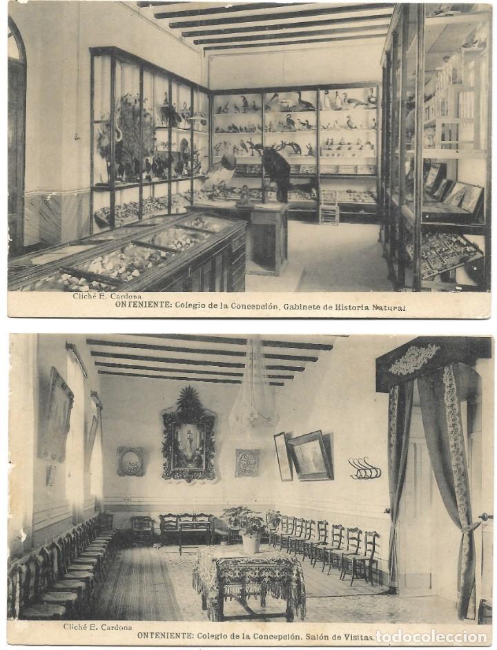 Postales: ONTENIENTE (VALENCIA) LOTE 29 POSTALES COLEGIO DE LA CONCEPCIÓN DIFERENTES Y 1 VISTA GENERAL, HAUSER - Foto 11 - 193341886