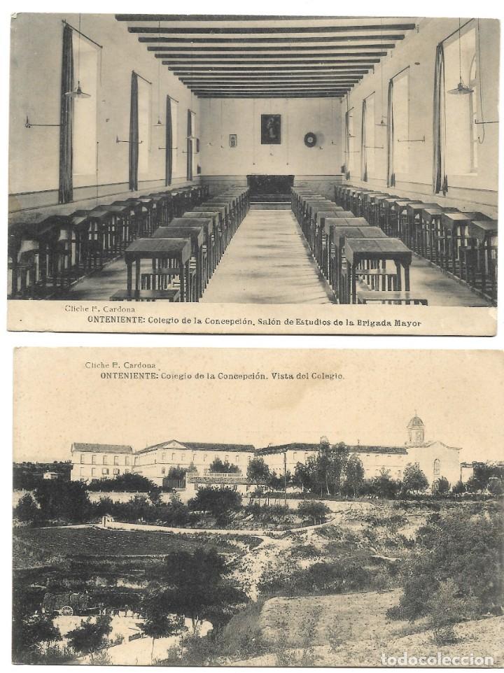 Postales: ONTENIENTE (VALENCIA) LOTE 29 POSTALES COLEGIO DE LA CONCEPCIÓN DIFERENTES Y 1 VISTA GENERAL, HAUSER - Foto 12 - 193341886