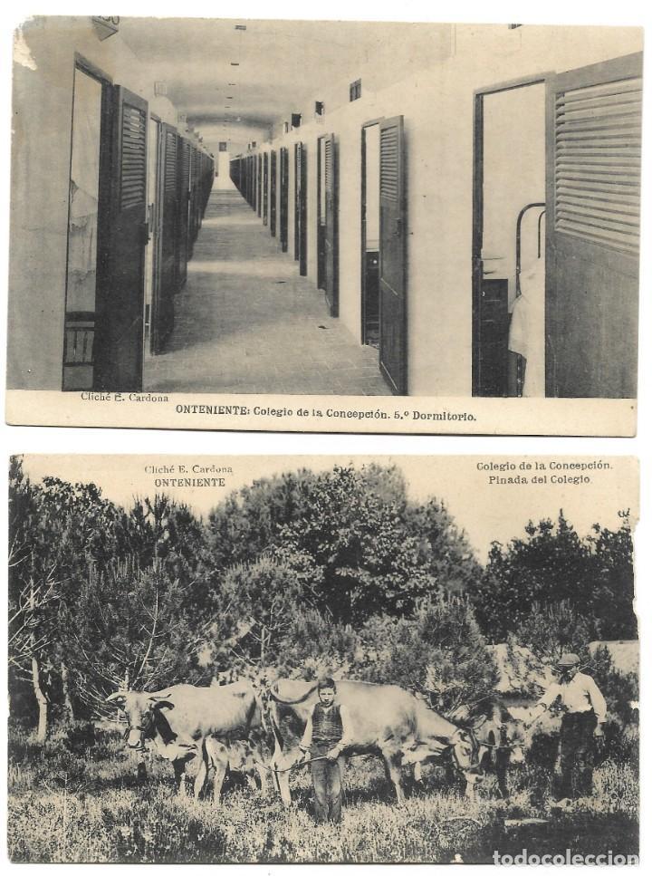 Postales: ONTENIENTE (VALENCIA) LOTE 29 POSTALES COLEGIO DE LA CONCEPCIÓN DIFERENTES Y 1 VISTA GENERAL, HAUSER - Foto 13 - 193341886