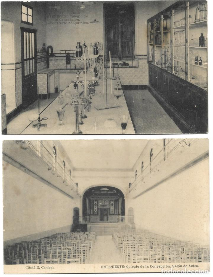 Postales: ONTENIENTE (VALENCIA) LOTE 29 POSTALES COLEGIO DE LA CONCEPCIÓN DIFERENTES Y 1 VISTA GENERAL, HAUSER - Foto 14 - 193341886