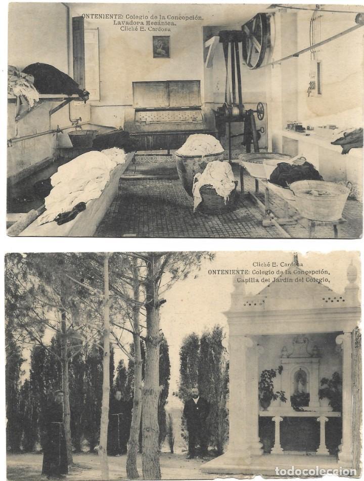 Postales: ONTENIENTE (VALENCIA) LOTE 29 POSTALES COLEGIO DE LA CONCEPCIÓN DIFERENTES Y 1 VISTA GENERAL, HAUSER - Foto 15 - 193341886