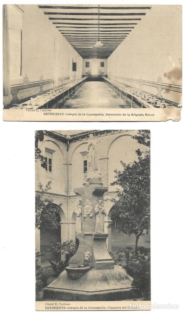 Postales: ONTENIENTE (VALENCIA) LOTE 29 POSTALES COLEGIO DE LA CONCEPCIÓN DIFERENTES Y 1 VISTA GENERAL, HAUSER - Foto 16 - 193341886