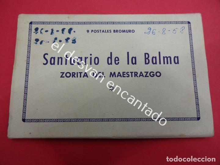 Postales: ZORITA DEL MAESTRAZGO. Santuario de la Balma. Acordeón 9 postales - Foto 7 - 194007451
