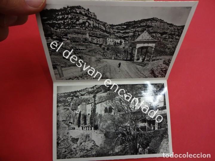 Postales: ZORITA DEL MAESTRAZGO. Santuario de la Balma. Acordeón 9 postales - Foto 4 - 194007451