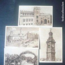 Postales: VALENCIA-4 POSTALES. Lote 194202392