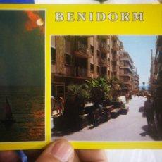 Cartes Postales: POSTAL BENIDORM ALICANTE CALLE MARTÍNEZ ALEJOS N 202 SUBIRATS CASANOVAS. Lote 194211073