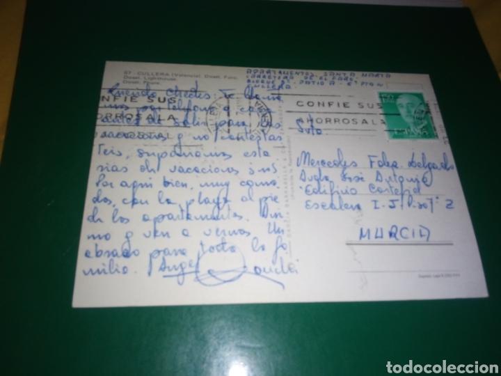 Postales: Antigua postal de Cullera de Valencia. Años 60 - Foto 2 - 194235291