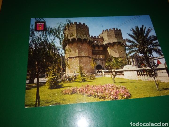 ANTIGUA POSTAL DE VALENCIA. TORRE DE SERRANOS. AÑOS 60 (Postales - España - Comunidad Valenciana Moderna (desde 1940))