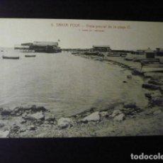 Postales: SANT POLA, VISTA PARCIAL DE LA PLAYA. (ALICANTE). Lote 194238560
