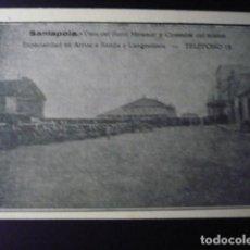 Postales: SANTAPOLA. VISTA DEL HOTEL MIRAMAR Y............. Lote 194239887