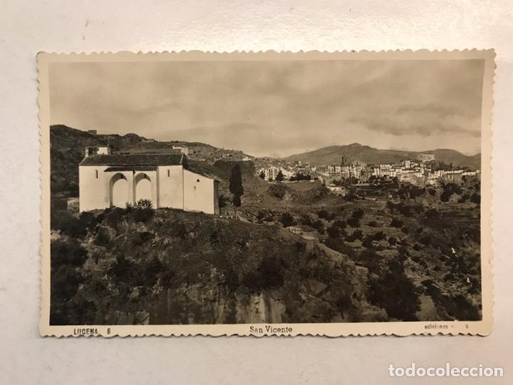 LUCENA DEL CID (CASTELLÓN) POSTAL FOTOGRAFÍCA NO. 6 SAN VICENTE, EDITA: ED. ARRIBAS (Postales - España - Comunidad Valenciana Antigua (hasta 1939))
