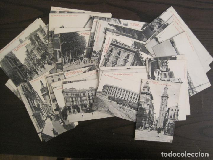 VALENCIA-LOTE DE 57 POSTALES ANTIGUAS-THOMAS-VER FOTOS-(67.003) (Postales - España - Comunidad Valenciana Antigua (hasta 1939))