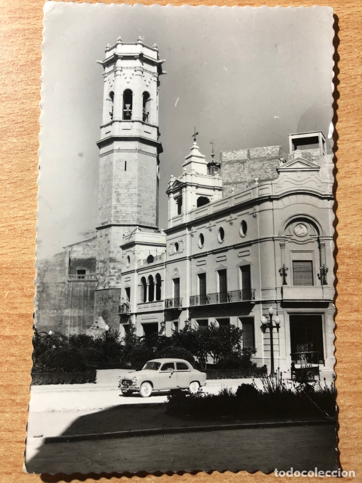 BURRIANA. TORRE CAMPANARIO. DARVI. ESCRITA. CASTELLÓN. (Postales - España - Comunidad Valenciana Moderna (desde 1940))